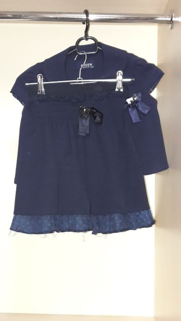 Костюм школьный (юбка , жилетка , блузка ) р116