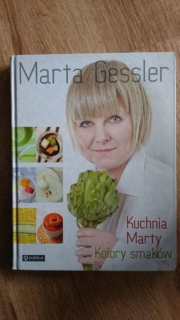 książka kuchnia Marty Gessler Kolory smaków