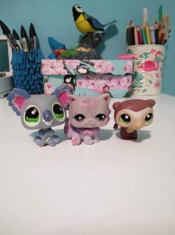 Littlest Pet Shop Kotek Koala i łasica