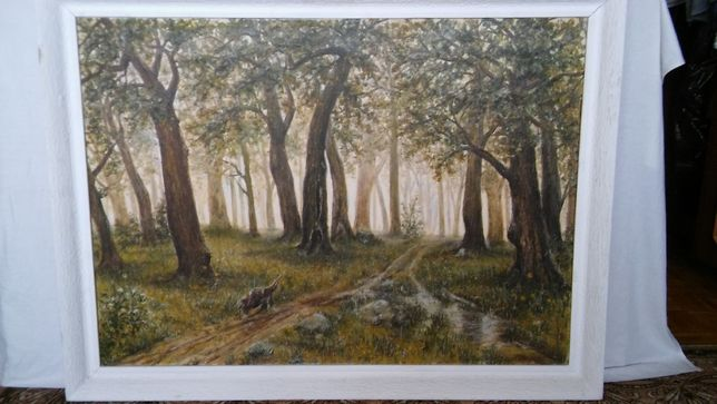 Obraz Deszczowy las