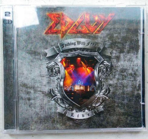 CD альбом EDGUY 2009 год рок живой звук (2 CD)