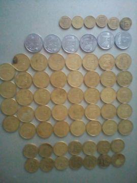 Монеты 5, 10, 25, 50 копеек 1992-94года.