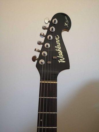 Guitarra Eléctrica Washburn X200 Pro + Saco + Cabo + Suporte