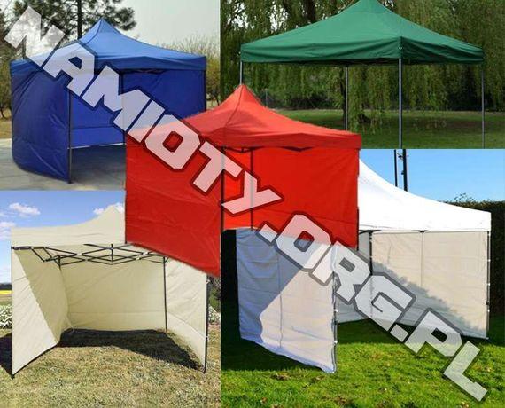 Namiot 3x3m handlowy, usługowy, imprezowy MOCNY 23kg!