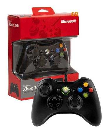 Проводной игровой джойстик для икс бокс 360. Геймпад для Xbox 360  пк
