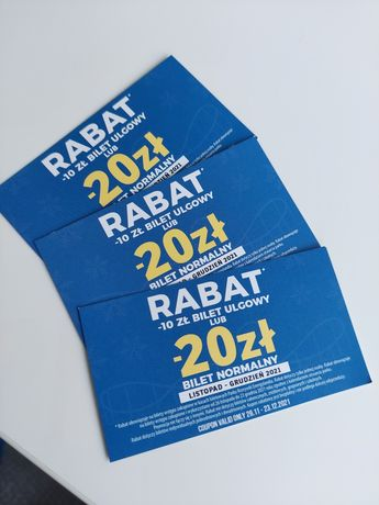 Rabat Energylandia cena za 3szt