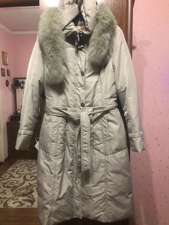 Продам пальто на пуху . Розмір xL