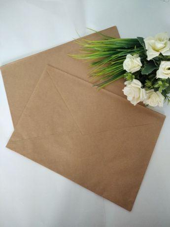 Крафт конверти А3, А4, А5 , А6 роздріб і опт. \продам крафтовые конвер