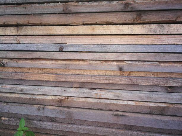 Deski szalunkowe szalunki płyty tarcica dechy drewno kołki budowlane
