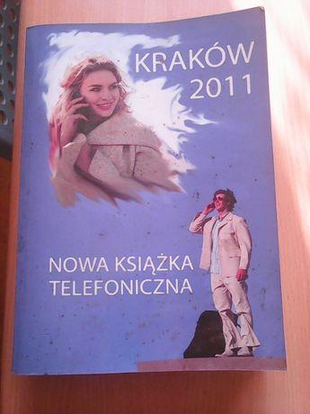 książka telefoniczna Kraków 2011 + 5 powiatów