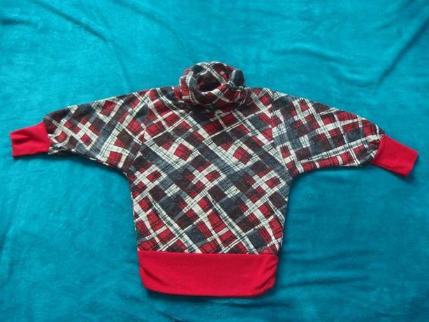 Nowa super bluza/sweter nietoperz rozm. 122-128