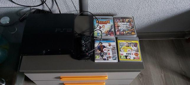 Sprzedam konsole PS3 1TB + pad + gry