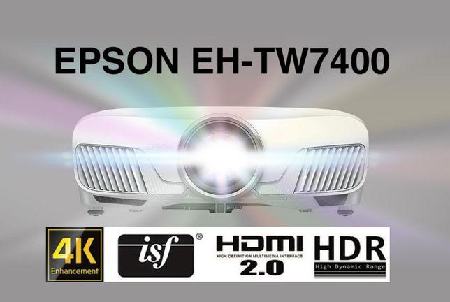 Проектор 4K Epson EH-TW7400 новый запечатанный Европа