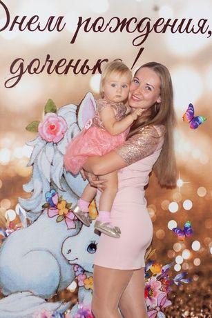 Фемели лук, Family look, платье мама дочка на годик