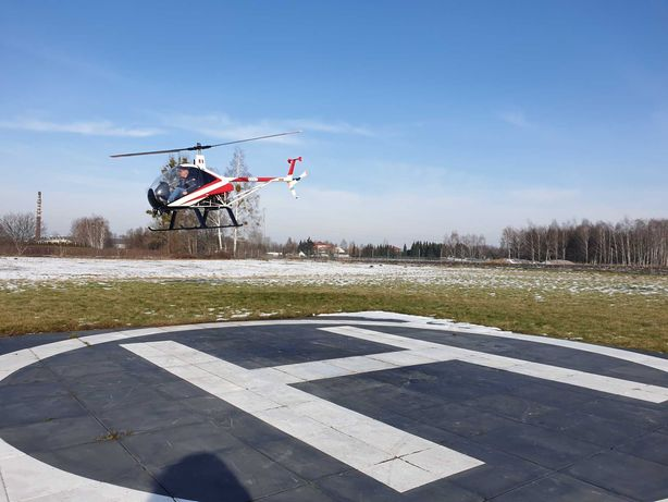 Helikopter Śmigłowiec ultralekki Ch7 Kompres Charlie