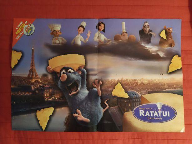 Posters do Nemo e Ratatui