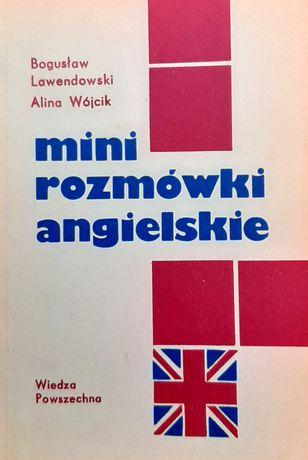 Mini rozmówki angielskie B. Lawendowski Wiedza Powszechna