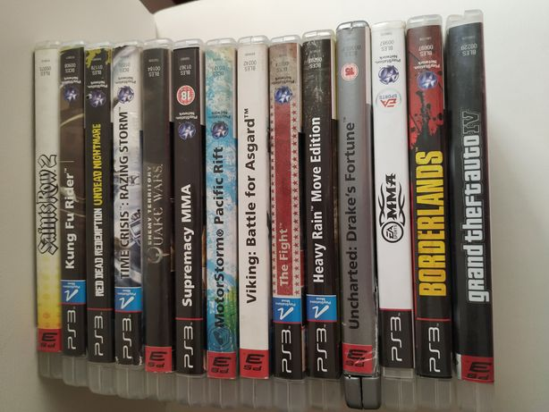 Jogos PS3 (Vários)