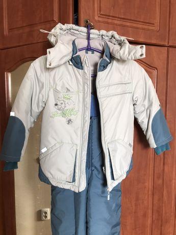 Детская куртка и комбез на мальчика