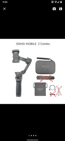 Продам стабилизатор Dji osmo mobile 3 combo