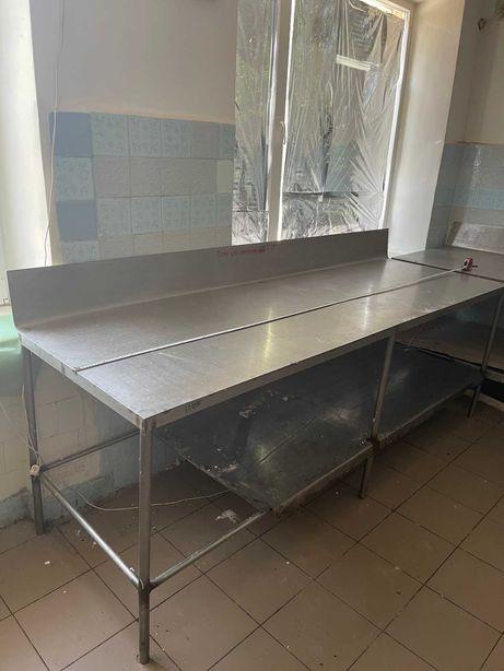 Продам кондитерские столы из нержавейки