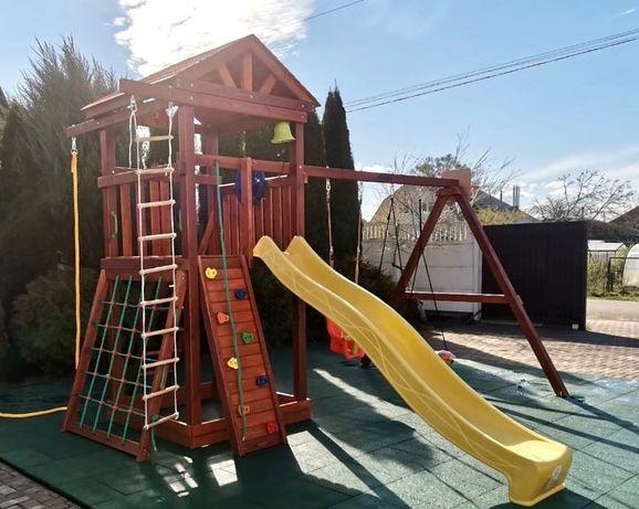 Детская площадка. Игровой комплекс. Игровая площадка.