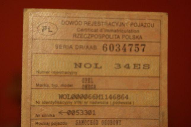 Kolekcja Opel Omega*Rok 1997*Poj.2260 Tdi