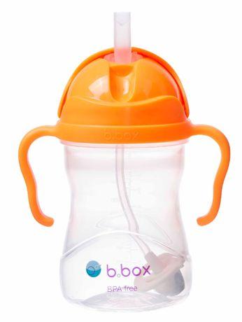 B.Box bidon ze słomką pomarańczowy 240 ml