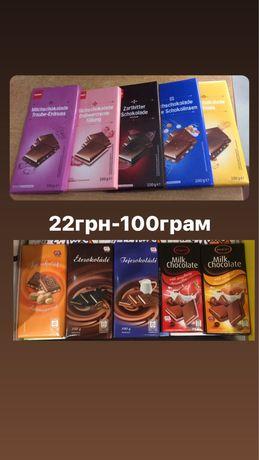 Шоколад з Європи,оптом,по доступним цінам