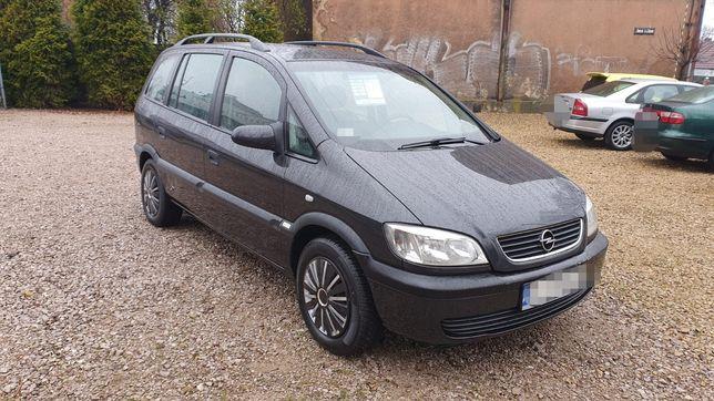 Opel Zafira 1,6 16V długie opłaty, bez rdzy, NOWY ROZRZĄD > 7osób