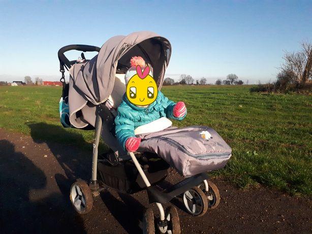 Spacerówka / wózek / Baby Design Walker KOMPLETNE WYPOSAŻENIE!