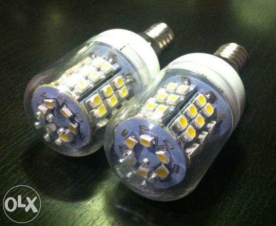 Lâmpadas LED E14 3W - Branco Quente