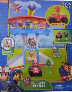Baza Wieża Psi Patrol + figurki