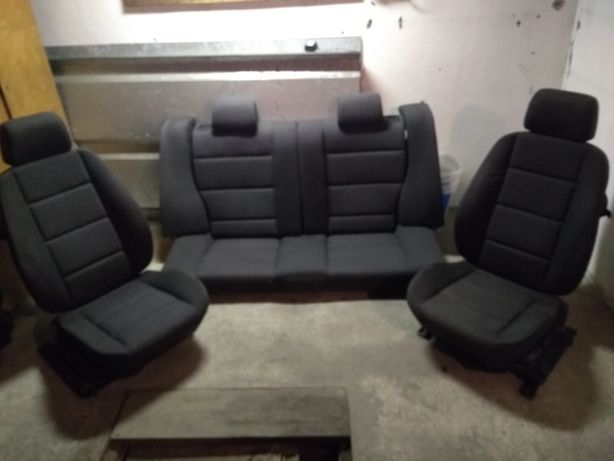 BMW e36 fotele przednie coupe cabrio compakt kanapa tył compakt