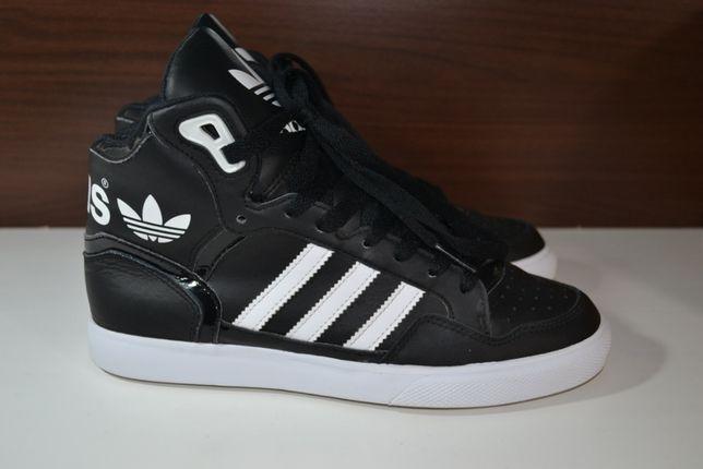 adidas 38р кроссовки сникерсы кожаные , хайтопы