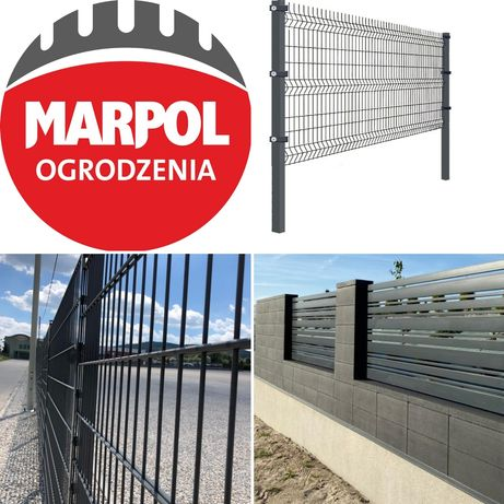 Ogrodzenie panelowe - Panel Wiśniowski 10 lat gwarancji bloczki Joniec