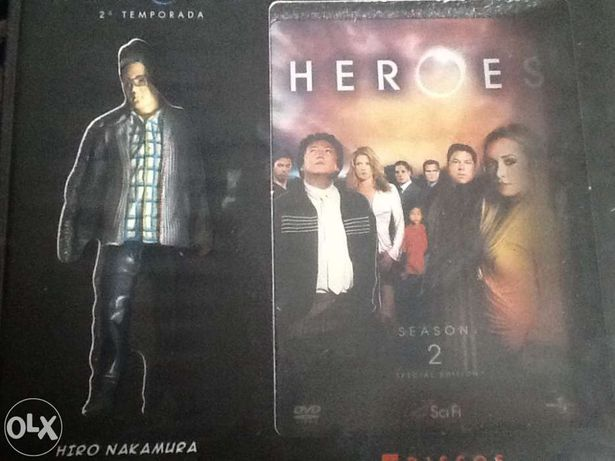 Série Heroes - 2ªtemporada completa, edição coleccionador