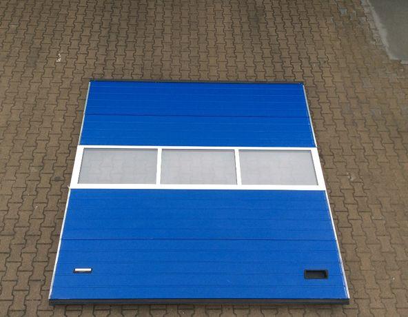 Bramy panelowe segmentowe przemysłowe garażowe 300 x 300