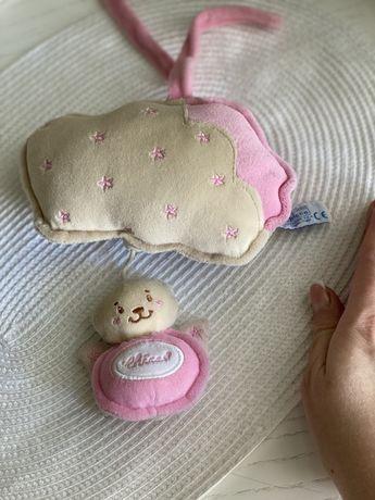 Chicco игрушка іграшка мобиль музыкальная для каляски кроватки манежа