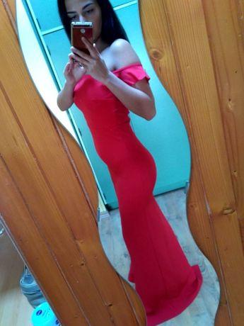 Sukienka maxi długa hiszpanka