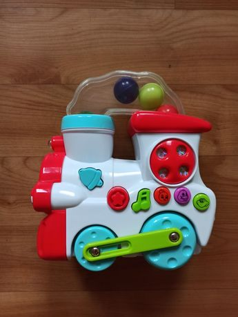 Музыкальный паровозик игрушка