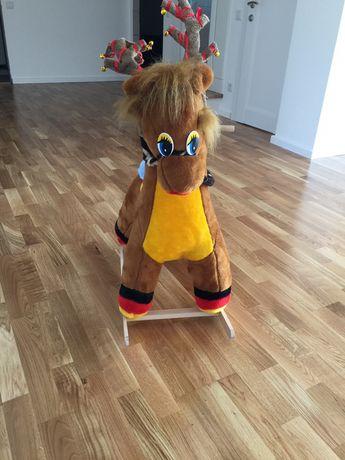 Конь качалка детская