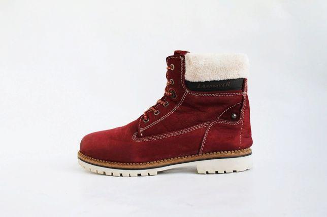 женские теплые кожаные ботинки Landrover . Martens, Clarks