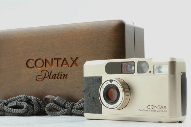 Contax T2 Platin Edition nova