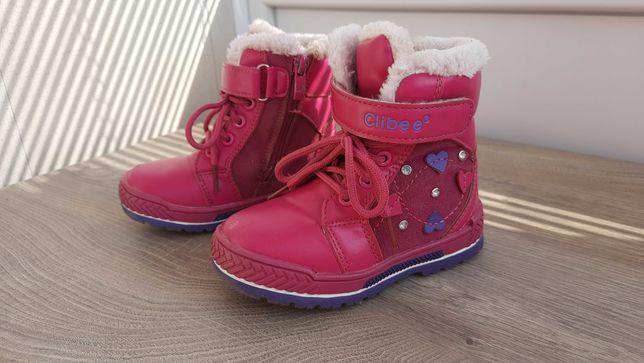 Зимние ботиночки на девочку Clibee