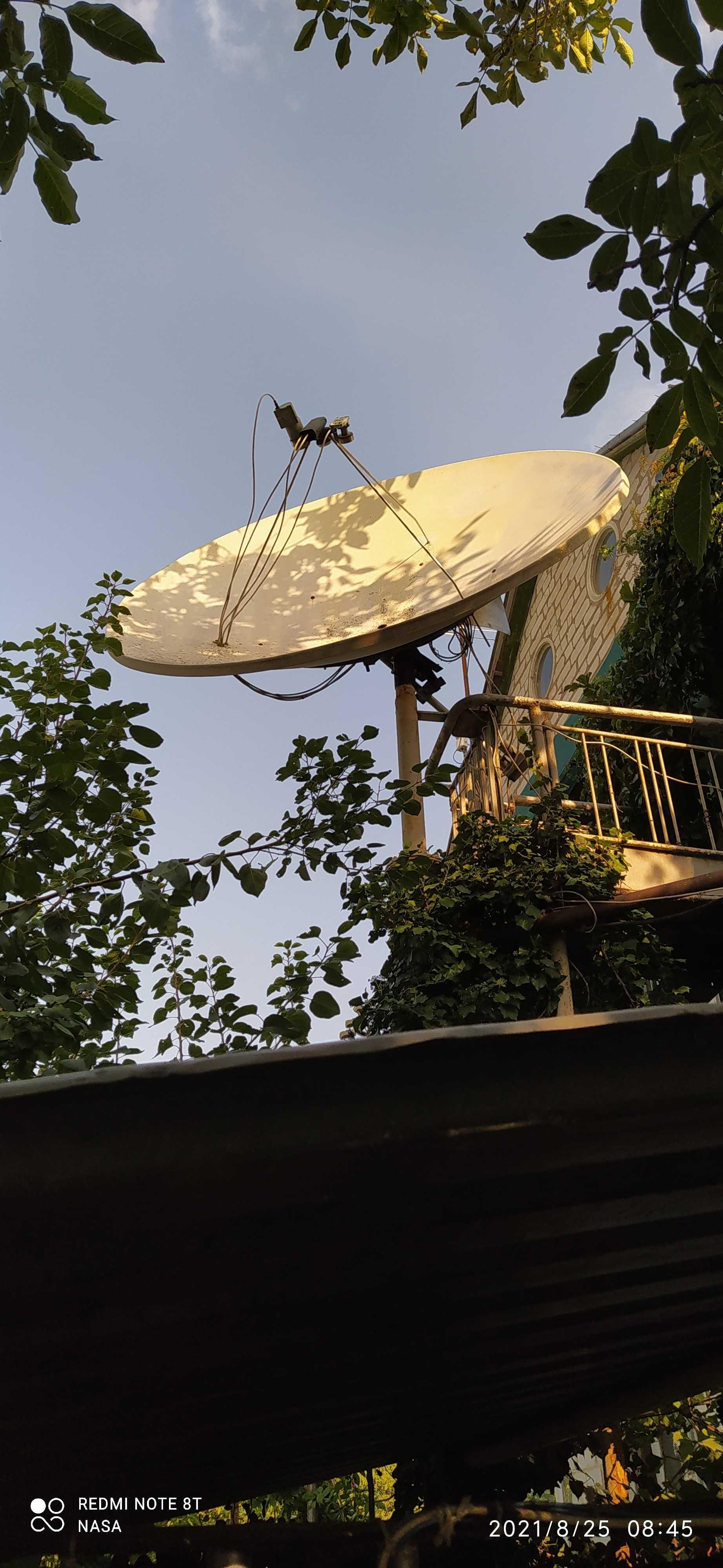 Супутникова тарілка 2.2м-ціна знижена.