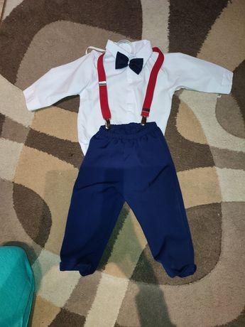 Ubranko dla chłopca do chrztu