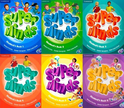 Super Minds Starter, 1, 2, 3, 4, 5, 6 PDF