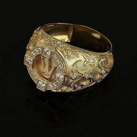 Перстень с короной. Стерлинговое серебро