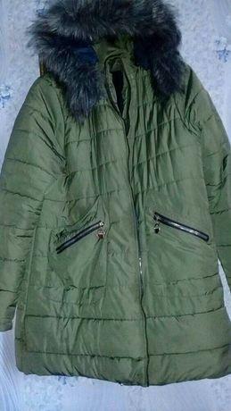 Зимняя куртка 56размер